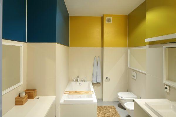 Ремонт в квартире зимой меняем цвет стен в ванной