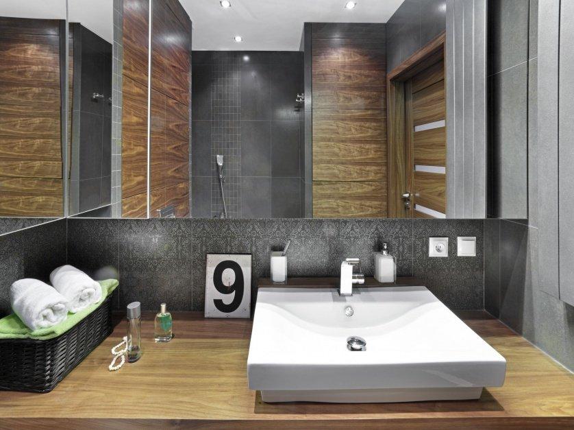 Решение небольшой квартиры Ванная комната