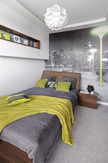 Решение небольшой квартиры Желтые акценты-