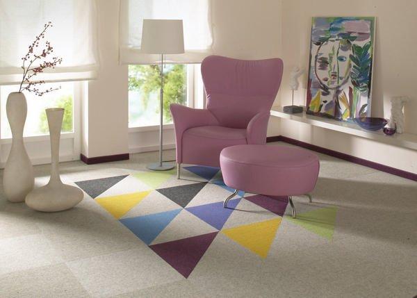декоративные возможности ковровой плитки чем она хороша