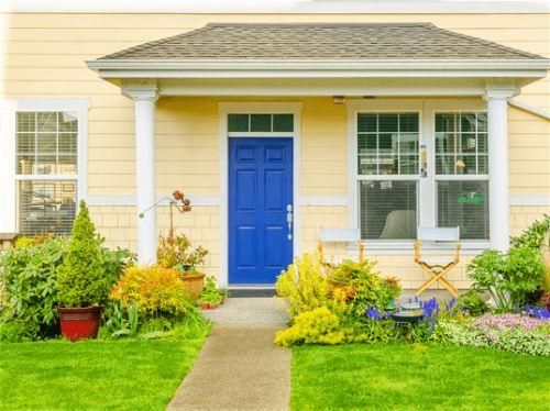 9 простых советов по фэн-шуй дома главная входная дверь
