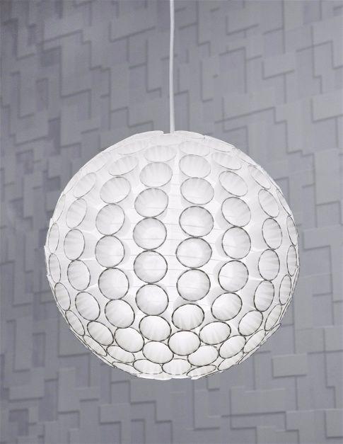 Можно сделать светильник  из бумажных стаканчиков-