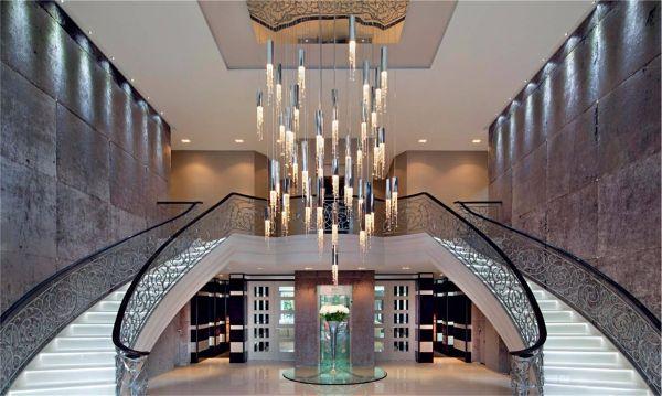 Световой театр в интерьере - Современные светильники
