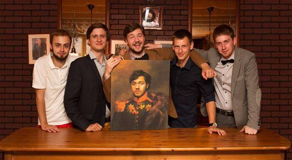 портрет по фото на холсте в подарок