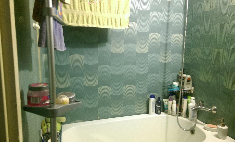 Быстрый ремонт в 42-метровой квартире ванна до