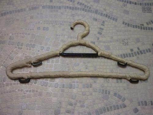 Как сделать дизайнерские вешалки для одежды фото  3