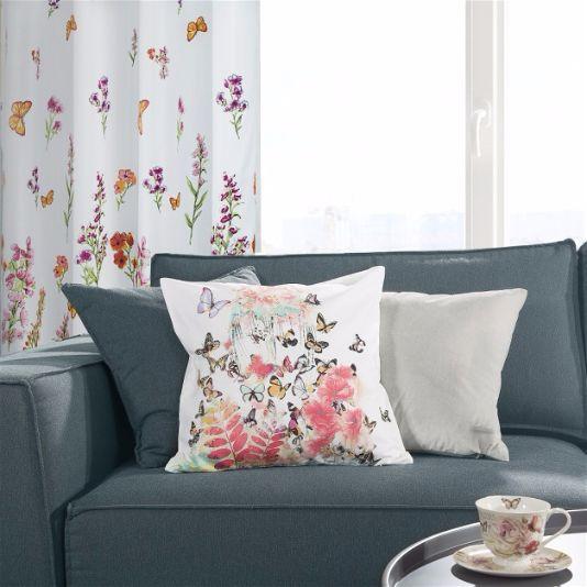 Растительные мотивы в Интерьере цветочный текстиль