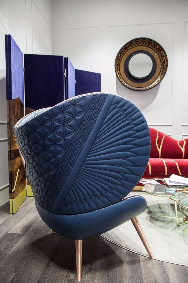 Тренды в интерьере представленные на выставке Maison & Objet.jpg кресло от Alma de Luce