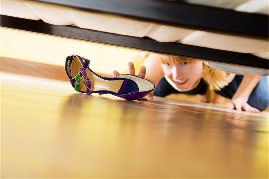 Уборка квартиры по фэн шуй . Загляните под кровать