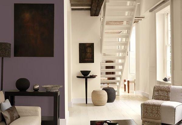 Фиолетовый Цвет в Интерьере фиолетовые стены