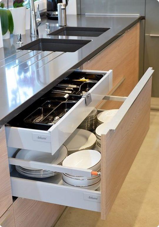 Идеи организации хранения на кухне как использовать стол