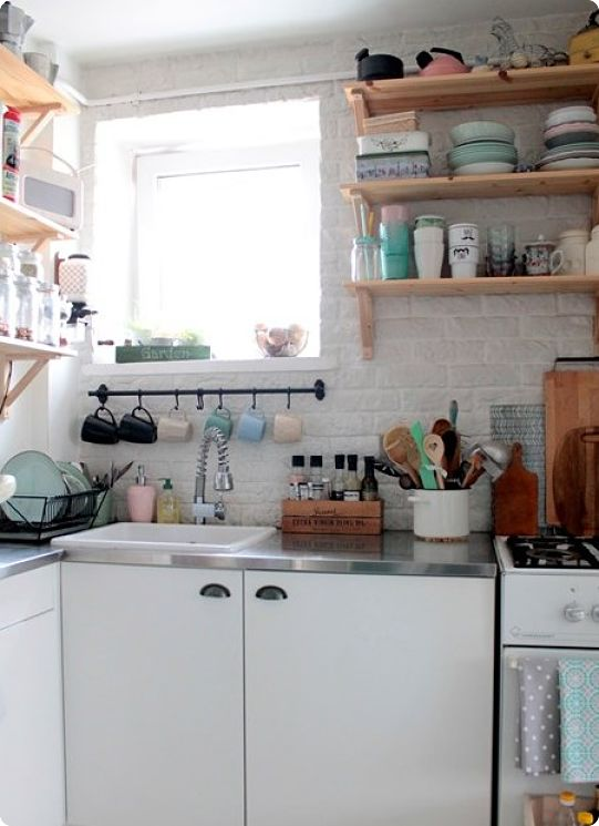 Идеи организации хранения на кухне маленького размера