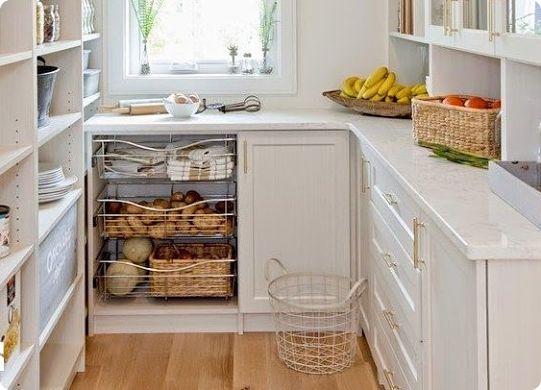 Идеи организации хранения на маленькой кухне