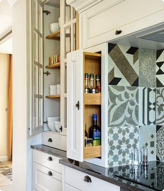 Организация хранения пространства на кухне
