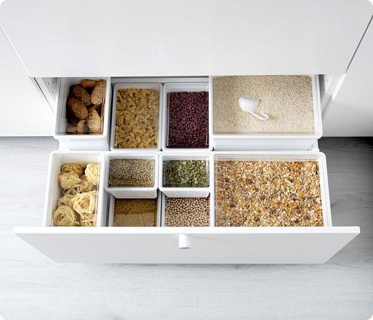Организация мест хранения на кухне