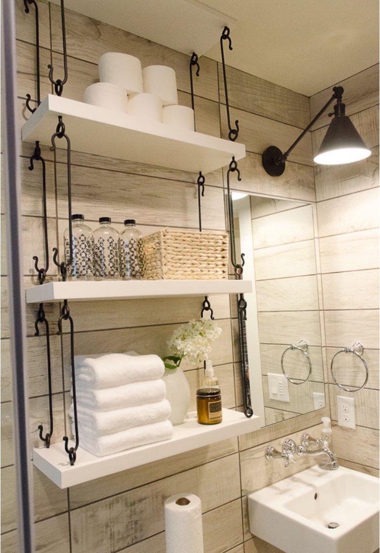 Хранение в ванной