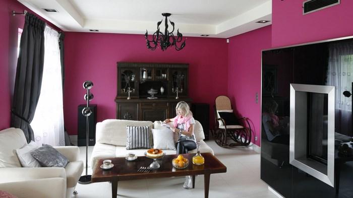 Цвет в интерьере гостиной