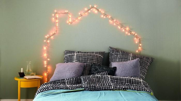 Как создать оригинальное освещение в спальне