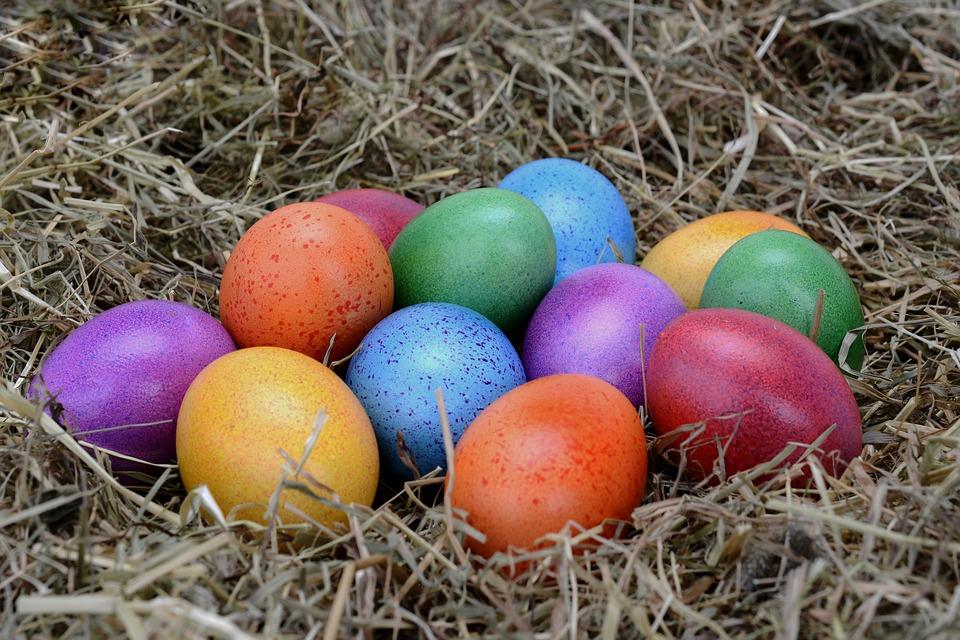 Крашу яйца на Пасху