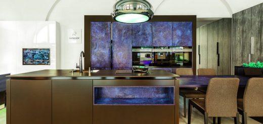 Фасады кухонные шпонированные