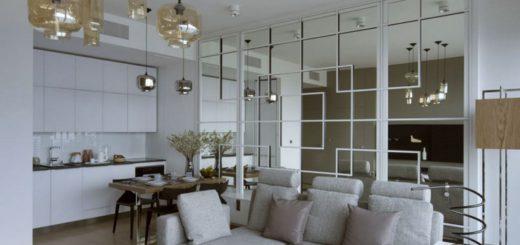 Интерьере квартиры вдохновленный Японией