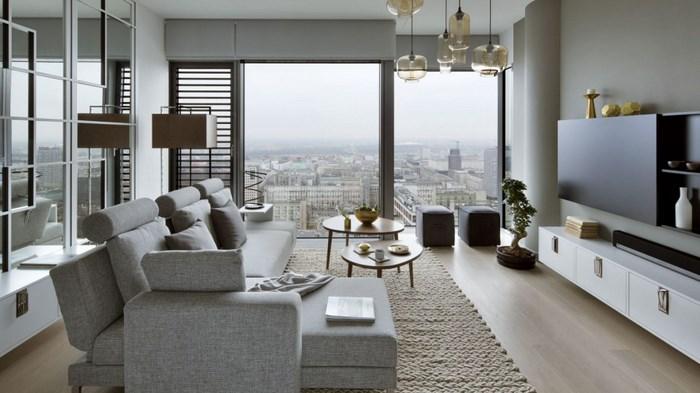 Красивая квартира, вдохновленная Японией