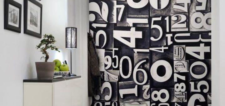 Оригинальное оформление стены выбор для любителей дизайна с нотками заманивание