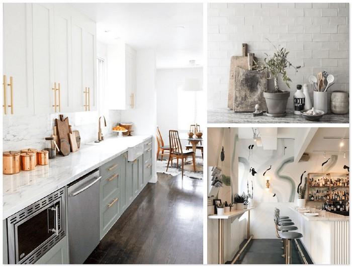 можно добавить белый в интерьер кухни