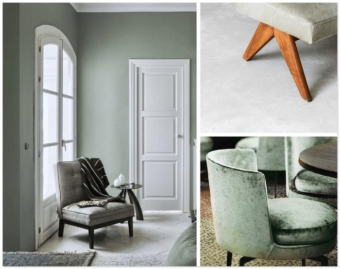 стены и мебель