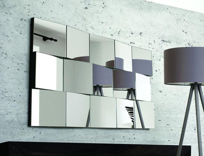 Секционная поверхность зеркала