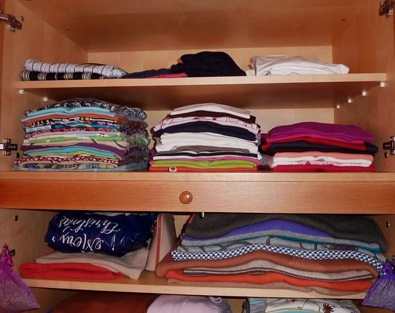 одежда по полочкам