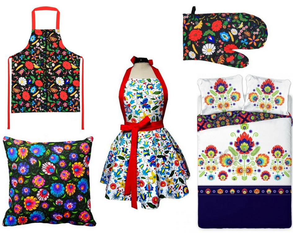 текстиль в фольклорном стиле