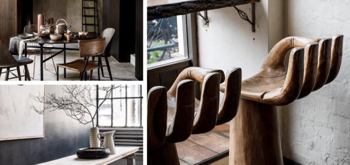 деревянные стулья как руки