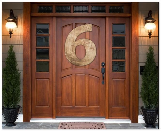 входная дверь шесть