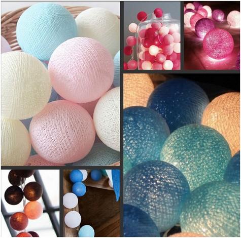 яркие шарики в дизайне