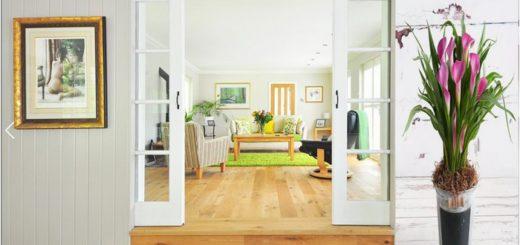 светлый дизайн дома