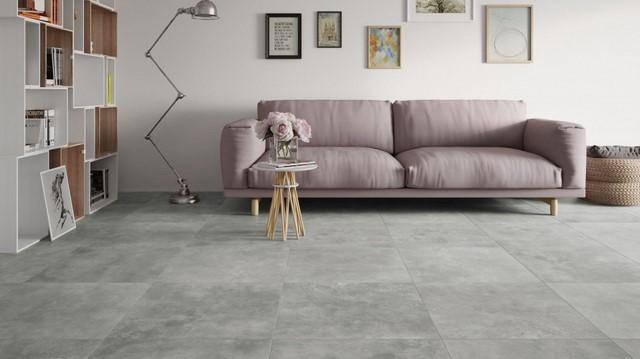 диван нежно розового цвета
