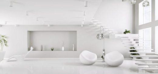 Белизна в интерьере как символ особенной чистоты