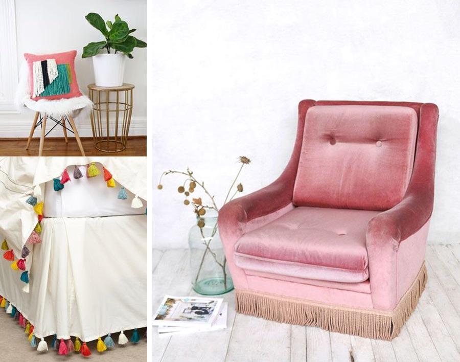 розовое кресло