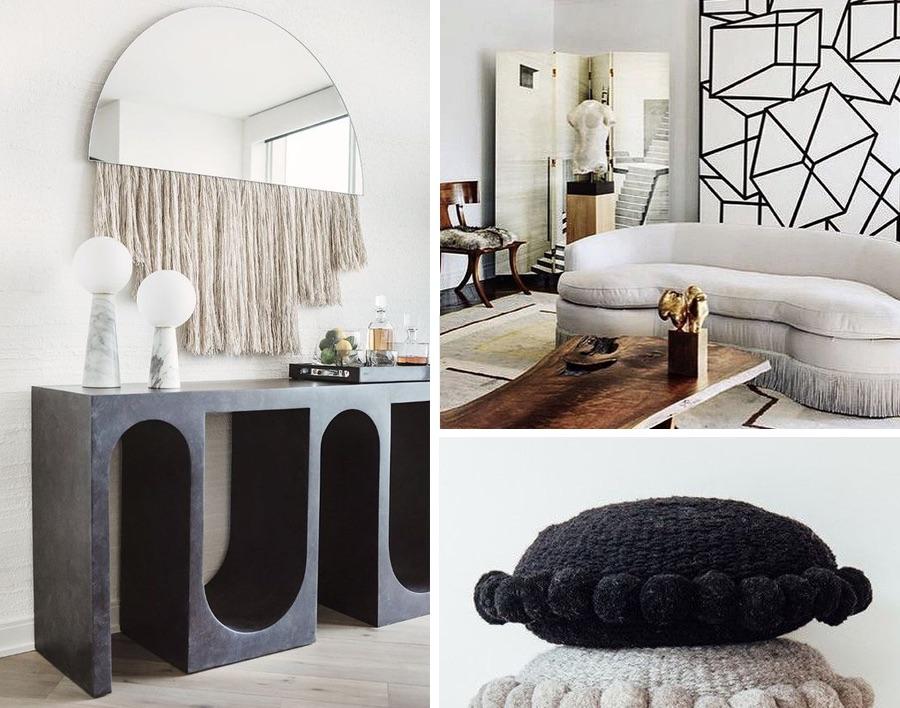 диван,полки и зеркало