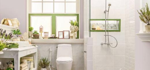 Можно скомбинировать серую стену с зелеными и желтыми элементами декора
