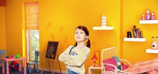 Комната для девочек может быть не обязательно розовой