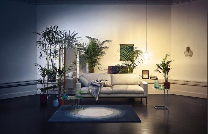 Зелень в дизайне квартиры