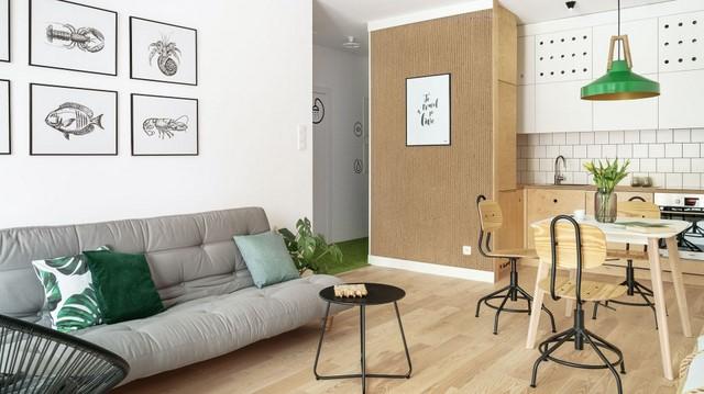 Эко-дизайн - зеленые аксессуары отлично дополняют интерьер