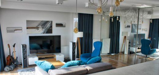 Яркая мебель в минималистичном дизайне
