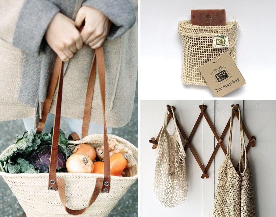 повторное использование сумок