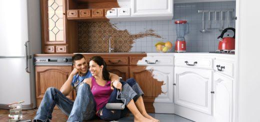 Начать ремонт на кухне