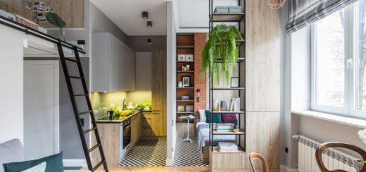 Маленькая кухня. Дизайн