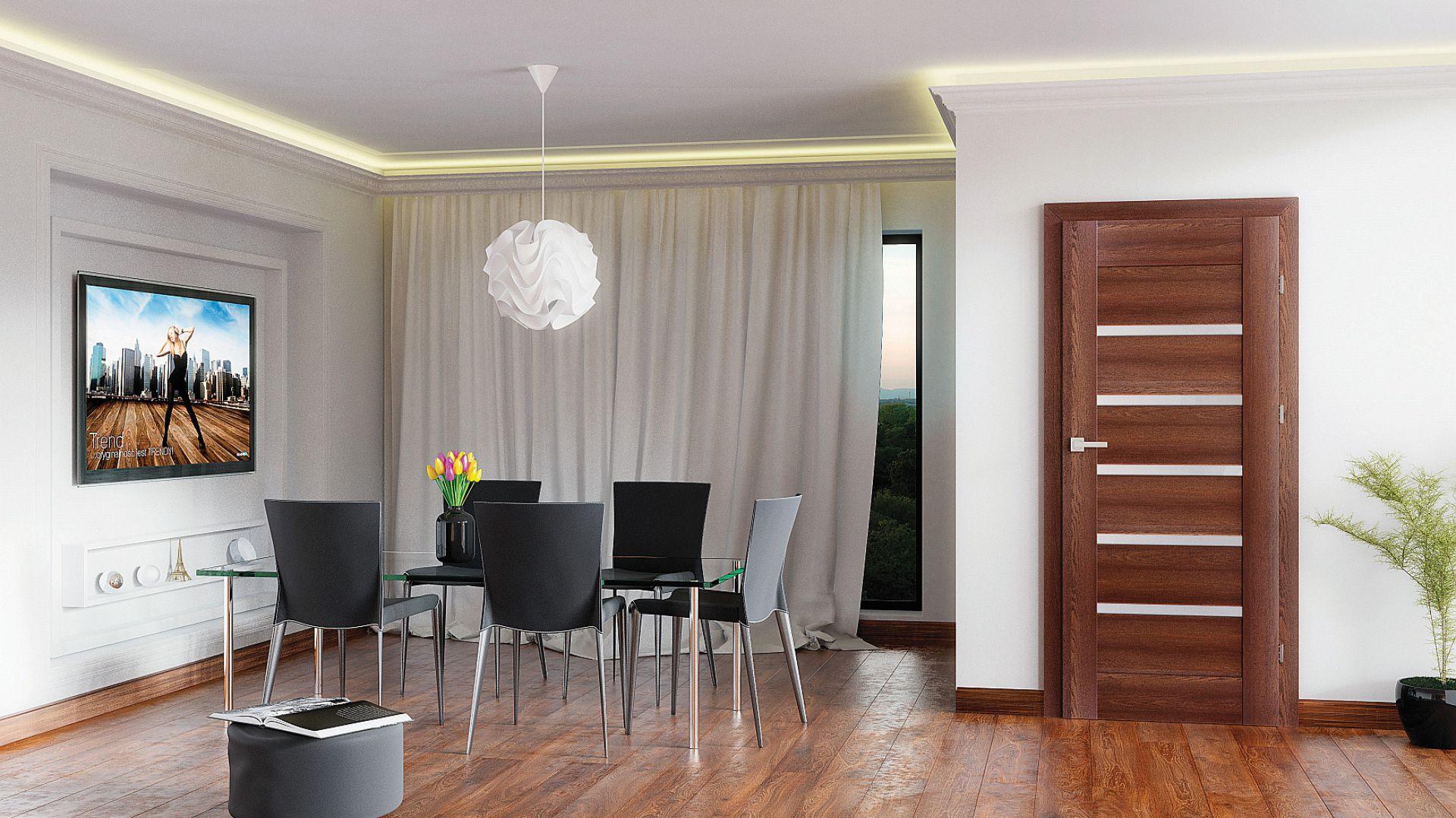 дверь в дизайне комнаты