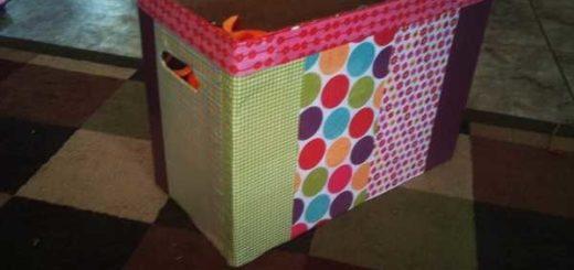 Готовые домашние коробка с игрушками
